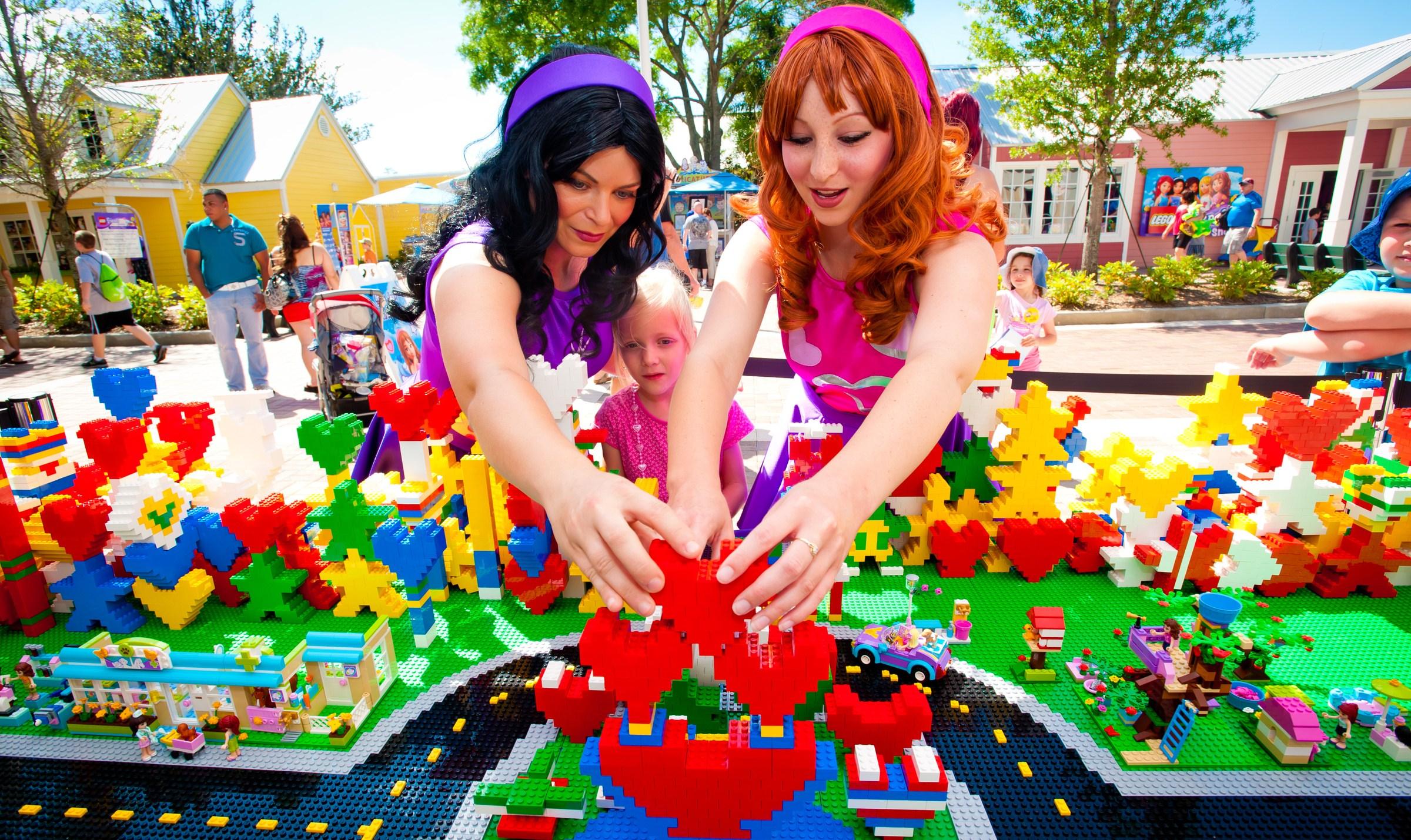 Enjoy Lego Friends Weekend At Legoland Florida Feb 15 16