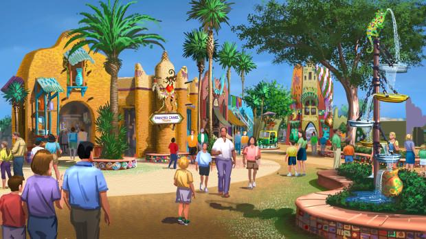 Pantopia at Busch Gardens Tampa 2