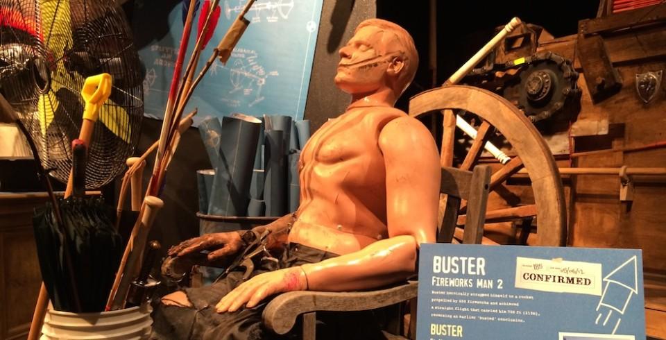 mythbusters explosive exhibit