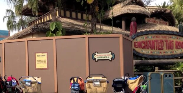 tiki room refurbishment walls