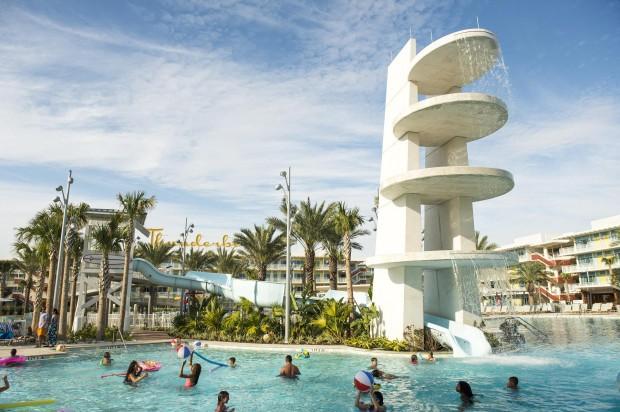 Universal's Cabana Bay Beach Resort Courtyard Pool