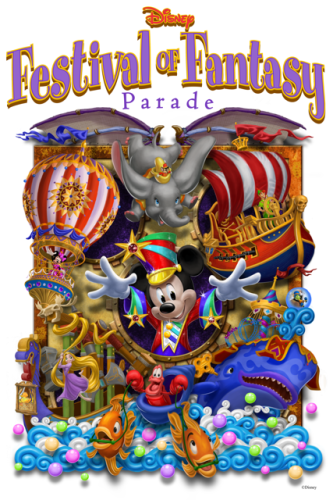 Festival of Fantasy parade poster