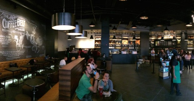 Indoor Starbucks at Universal CityWalk