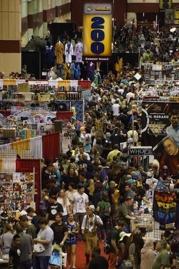 The crowd at MegaCon this year is expected to have over 100,000 fans in attendance.
