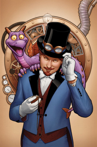 Figment #1 Dreamfinder Epcot Marvel comic