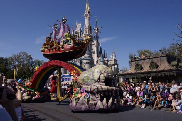 Disney Festival of Fantasy Parade Peter Pan float