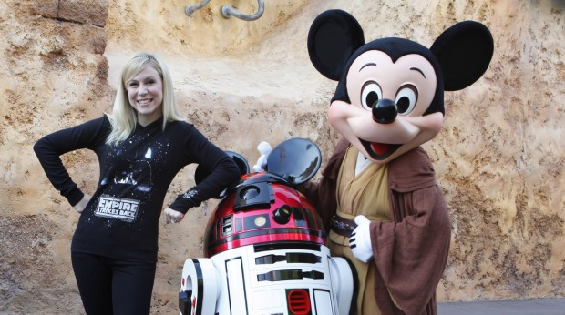 Star Wars Weekends Ashley Eckstein