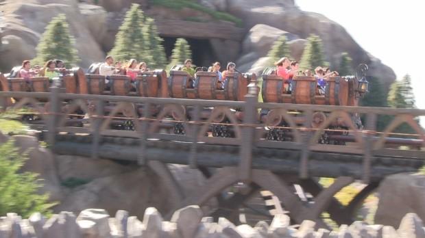seven dwarfs mine train first riders commercial