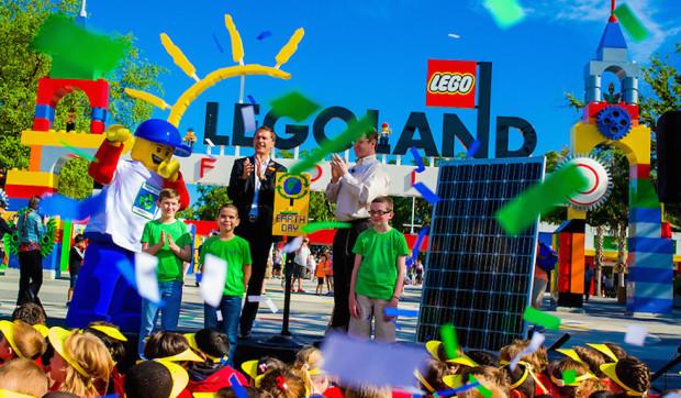 Legoland florida earth day celebration 2014