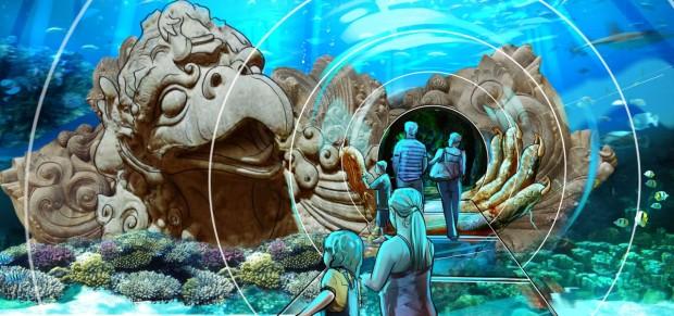 Ocean tunnel Garuda