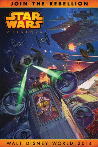 Star Wars Weekends 2014 poster