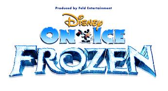 Disney on Ice presents Frozen logo