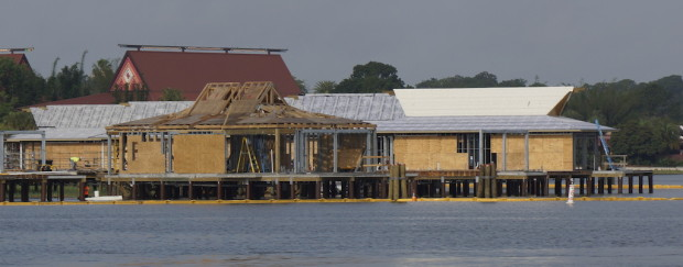 DVC bungalows polynesian construction