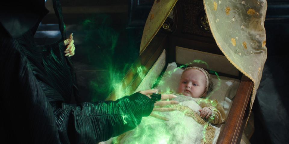 Baby Aurora in Maleficent