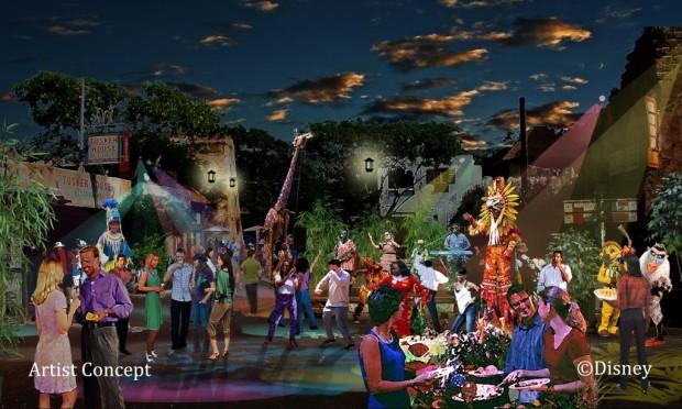 Harambe Village Street Party