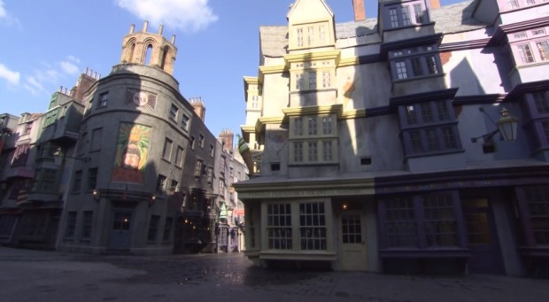 Inside Diagon Alley at Universal 34455