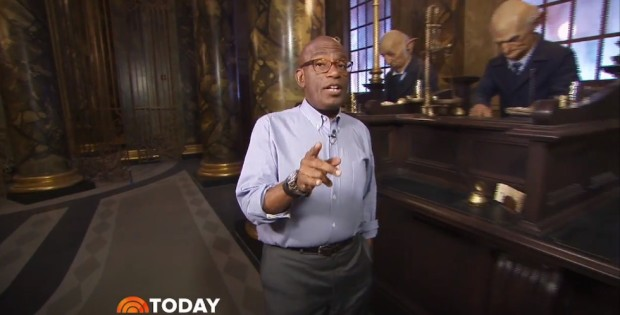 Inside Gringotts today show