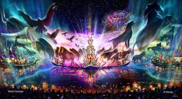 Rivers of Light show at Animal kingdom