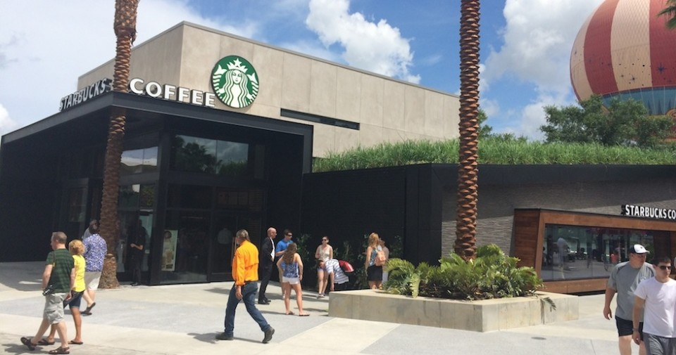 Starbucks at Downtown Disney WDW