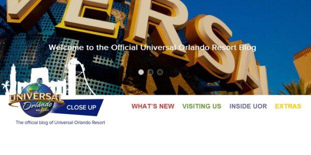 universal orlando blog