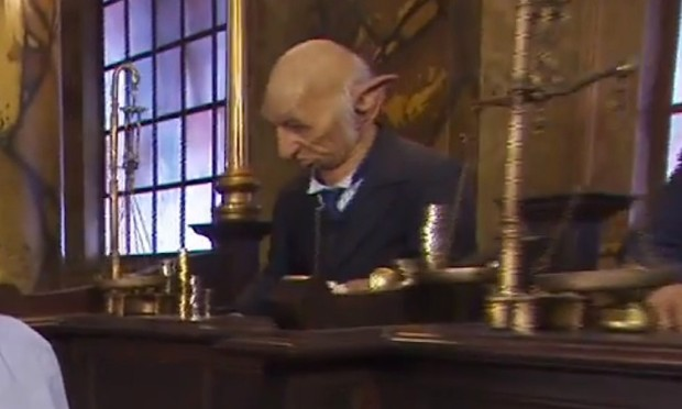 goblins in Gringotts bank ride