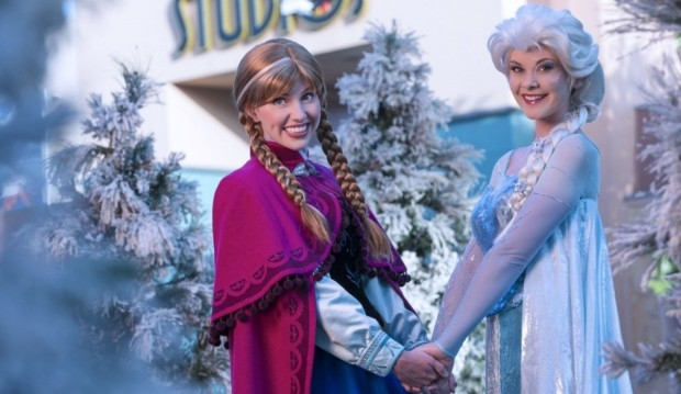 Frozen summer party at Hollywood Studios