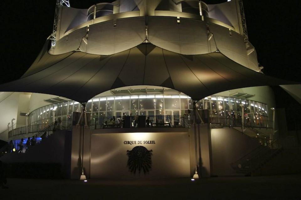 Cirque du Soleil at Downtown disney