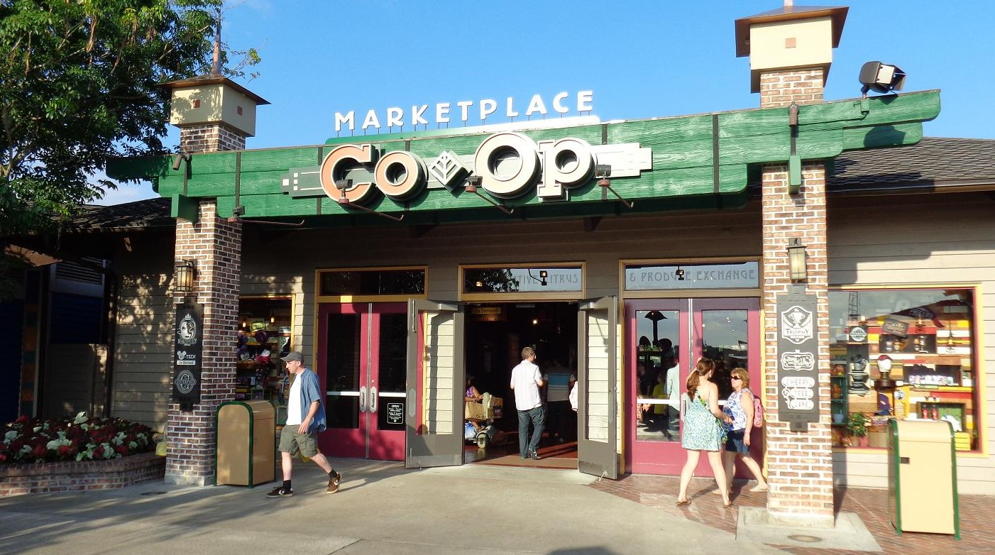 Marketplace Co-Op now open at Downtown Disney Marketplace Marketplace