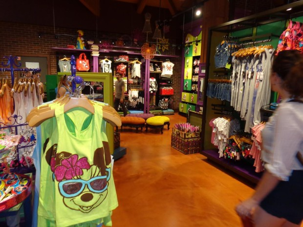 zoey and pickles in Marketplace Co-Op at Downtown Disney