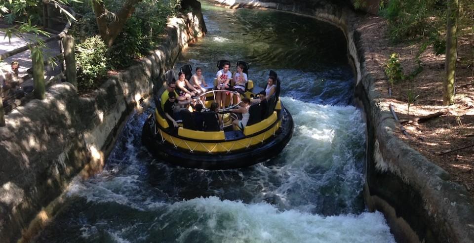 Busch Gardens water ride