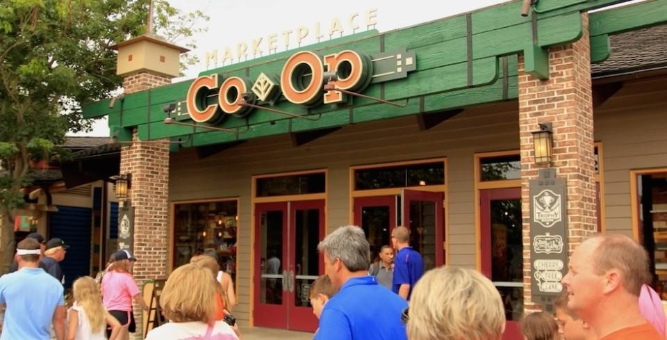 Marketplace co op entrance