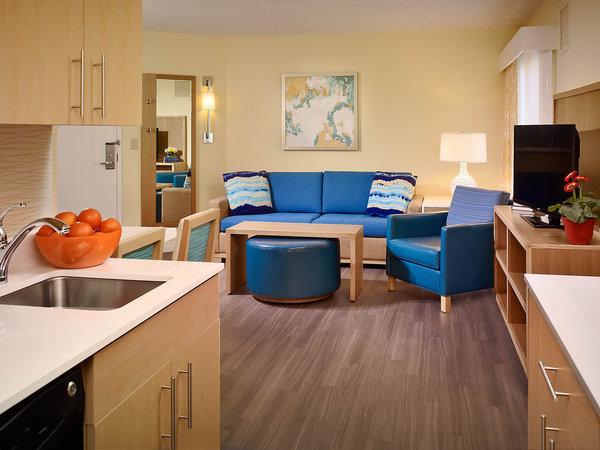Sonesta ES Suites Orlando inside room