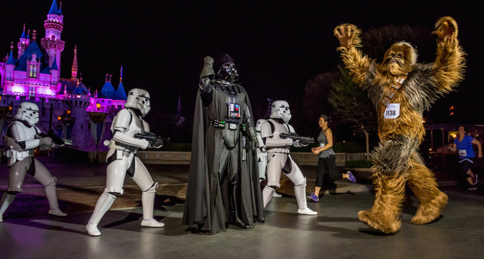 Star Wars runDisney