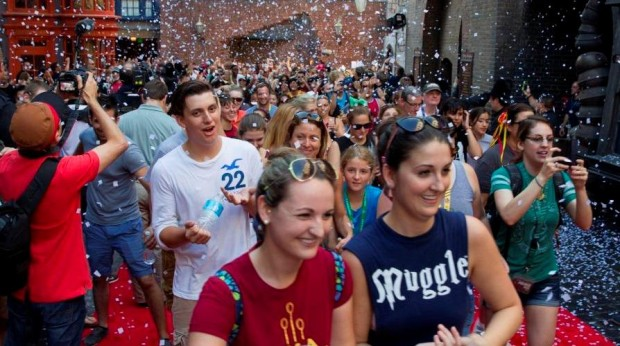 Diagon Alley grand opening Universal Orlando