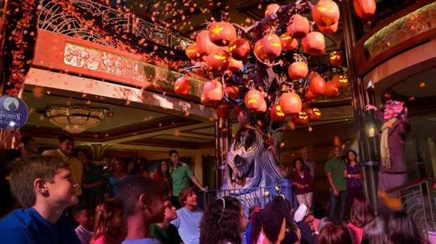 Halloween on the High Seas—The Pumpkin Tree aboard the Disney Dream