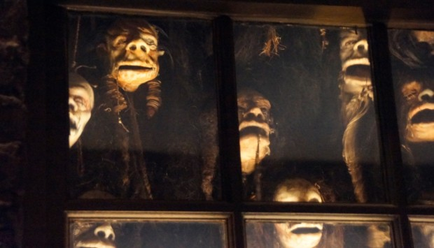 Jaws tribute Diagon Alley shrunken heads knockturn alley show me the way to go home
