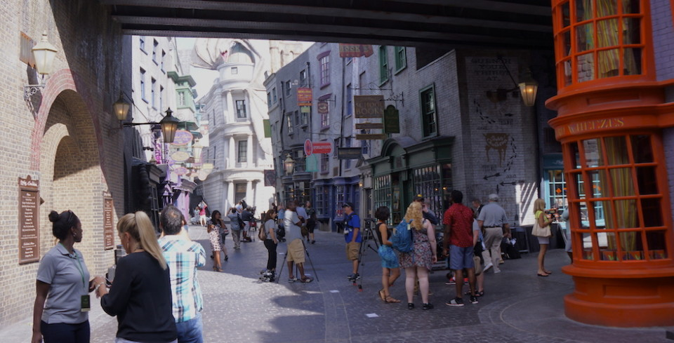 Diagon Alley street