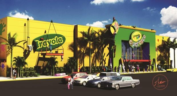 Crayola Experience Orlando Florida Mall exterior