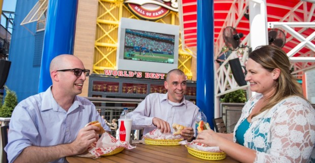 Hot Dog Hall of Fame Universal CityWalk