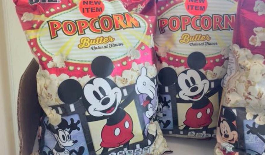 Mickey Mouse popcorn at wawa