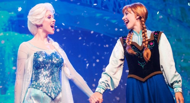 Frozen Summer Fun Live Anna and Elsa