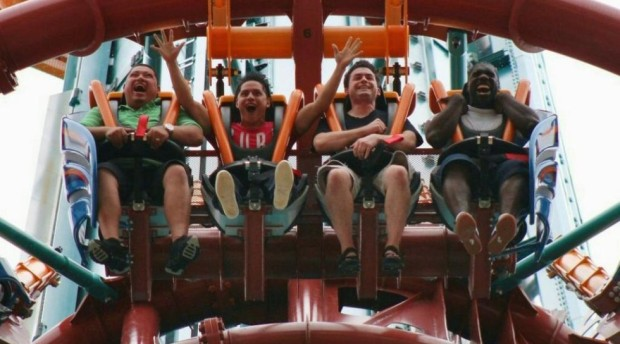 Falcon's Fury soft opens at Busch Gardens Tampa