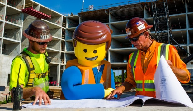 Legoland Florida Resort Hotel construction
