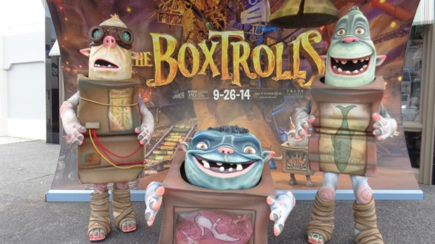 The Boxtrolls at Universal Orlando