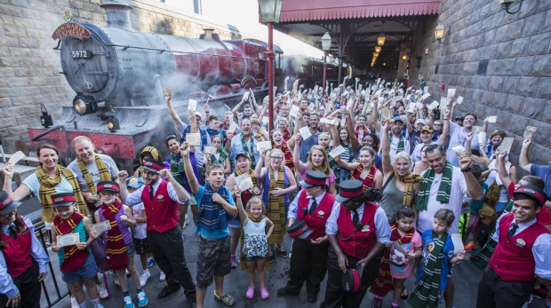 Hogwarts Express one million riders Universal Orlando