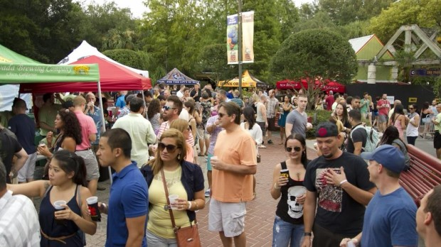 tampa's lowry park zoo wazoo beer festival