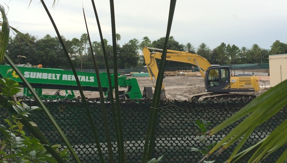 Possible Skull island at Universal orlando
