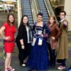 doctor who cosplayers at leakycon
