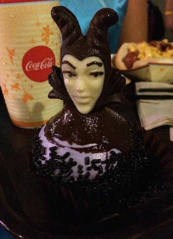 maleficent cupcake