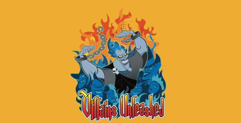 Villains unleashed logo